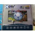 Receptor receiver de înaltă definiție digital terestru 1080P i DVB-T2 HDTV 3D