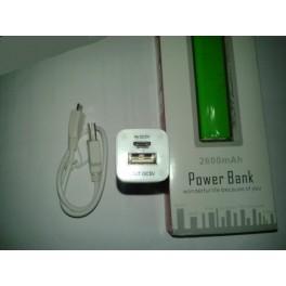 Baterie Externa 2600mAh USB Portable Power Bank