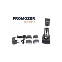 Masina profesionala de tuns ProMozer - Lama cu invelis din titan si cutit ceramic MA9817