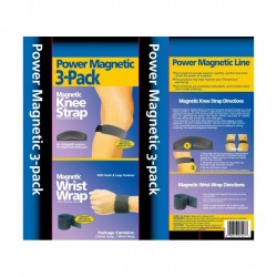 Benzi magnetice Dr. Levine power magnetic 3-pack