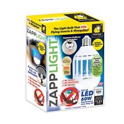 Bec LED 9W & lampa UV anti-tantari,insecte Zapp Light