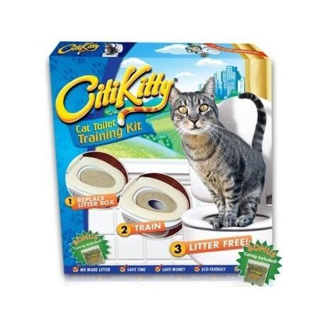 Kit de educare al pisicutelor la toaleta SmartKitty