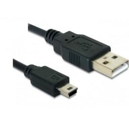 Cablu OTG mini USB tata la USB mama