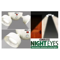 LAMPA  NIGHT EYES LED FARA FIR CU SENZOR DE MISCARE