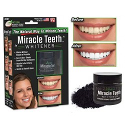 MIRACLE WHITENING TEETH WHITE 20G PULBERE PENTRU ALBIREA DINTILOR