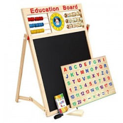 Tabla educativa multifunctionala pentru copii 65 x 45 cm
