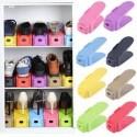 Set organizator pentru pantofi, dublarea spatiului depozitare, 6 piese