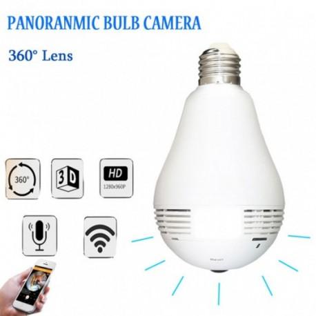 Panoramic Camera B2R, 2 MP, Camera Tip Bec , cu iluminare, Alarma, unghi de vizualizare de 360 grade, Wireless, AP