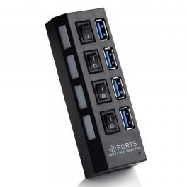 Hub USB 2.0 cu 4 porturi