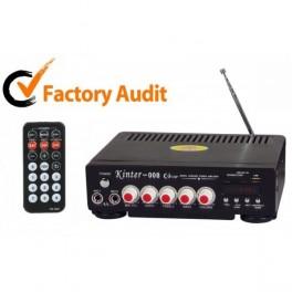 Statia de amplificare Radio Fm-Karaoke Kinter 008