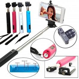 Monopod Selfie Telescopic cu Bluetooth