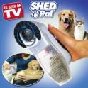 Perie cu vacuum pentru par animale Shed Pal
