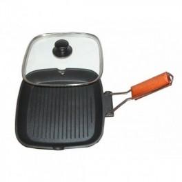 Tigaie grill cu capac Grunberg HXG2535LD